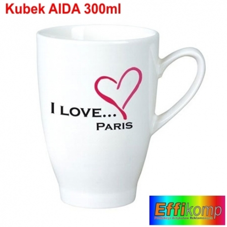 Kubek reklamowy AIDA