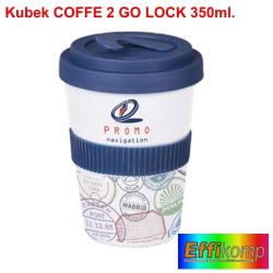 Kubek reklamowy COFFEE 2 GO LOCK