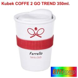 Kubek reklamowy COFFEE 2 GO TREND