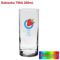Szklanka reklamowa TINA
